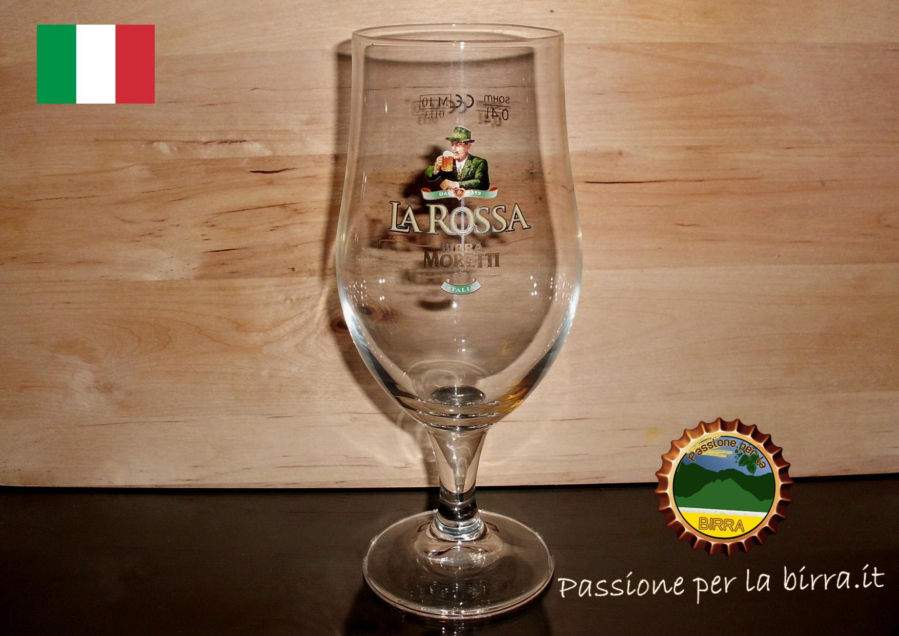 Bicchiere birra moretti calice for Bicchieri tulipano
